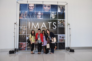 IMATS LA 2011 with Jasmine, Wafi and Victoria!