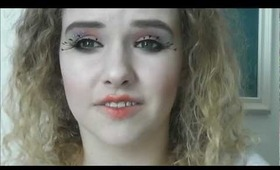 The Hunger Games series: Capitol inspired makeup tutorial