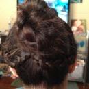 Side braids into Triple braid