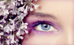 Lovely Lilac Eyes
