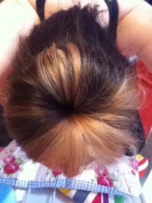 Brown and blonde hair :)