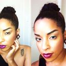 Bold lip Summer makeup