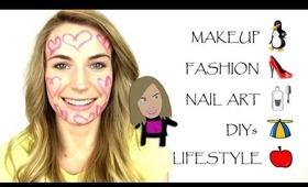 Beauty, Makeup, Fashion, Nail Art, DIYs, Lifestyle, Makeup Tutorials, Outfits, Tips
