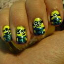 31 Day Nail Challenge: Day 3- Yellow- Dispicibal Me Minions