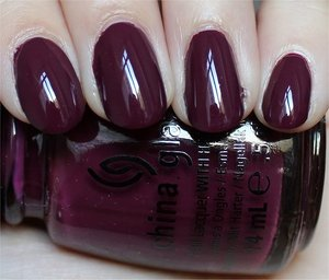 See more swatches & my review here: http://www.swatchandlearn.com/china-glaze-purr-fect-plum-swatches-review/