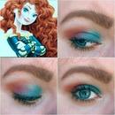 Colorful Princess Merida Inspired Look