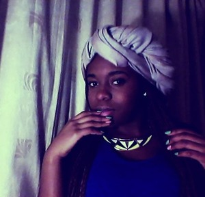 Thought I'd try out the dark editing. But this was pretty much inspired by my African background.