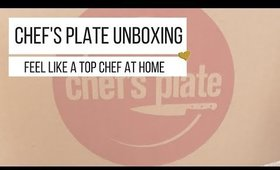 Chefs Plate Unboxing