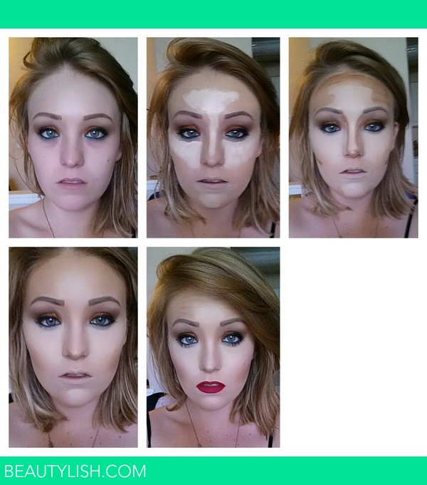 my step by step contour | Andrea m.'s Photo | Beautylish
