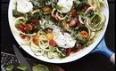Veggie Zucchini Noodles with Burrata Recipe Low Calorie