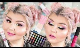 Pastel Rainbow Makeup Look Using New & Old Makeup