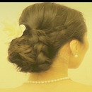 WEDDING CHIGNON Low BRAIDED Sock BUN UPDO on Long Hair - HOW TO HAIRSTYLES, Coiffure EASY Do!