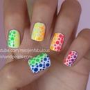 Rainbow Polka Dots!