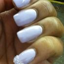 Lavender Caviar Nails