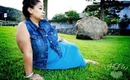 Too Cool in Blue - Plus Size Casual Summer Outfit of the Day!