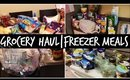GROCERY HAUL FOR FREEZER MEALS
