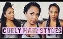 3 Back to School Hair Styles | Collab w Natalia Montalvo