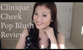 Clinique Cheek Pop Blush Review & Application