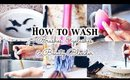 How I Clean Makeup Brushes, Beauty Blender and Fake Eyelashes