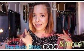 OUTLET HAUL! Victoria's Secret, Bare Minerals, The Body Shop