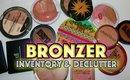 Bronzer Inventory & Declutter