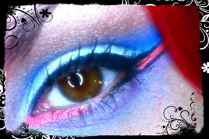 I'm not perfect, just fooling around with the MU4E 12 Color Flash Case and UD Vice Palette