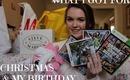 Christmas And Birthday Haul!
