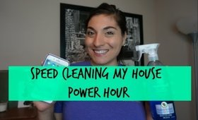 Speed Cleaning My House| Power Hour