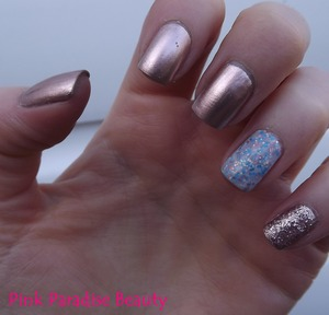 Essie - Penny Talk Nails Inc - Sweets Way Models Own - Pink Fizz