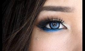 Modern Blue Eye Makeup (DAY or NIGHT)