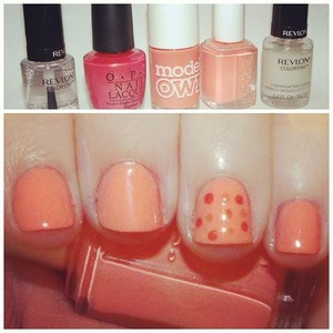 Nail Of The Day: It's All Peaches!!