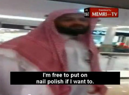 Saudi Woman Defends Her Right to Wear Nail Polish