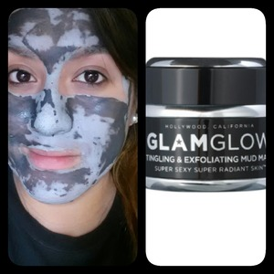 · Glam Glow Mud Mask · This a fantastic and awesome product that will cleanse and exfoliate your face , making your pores smaller and leaving a nice and soft skin  (stress free) Your skin will THANK you later (; I highly recommend this to all the ladies for a fantastic and flawless skin