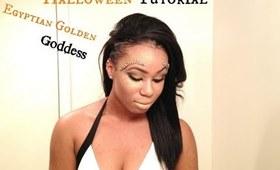 ♡ Halloween Look Book #1   Egyptian Golden Goddess  ♡