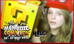 MCM MAY 2018 HAUL AND GIVING UP COSPLAY