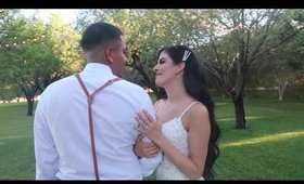 Angelica and Will's summer wedding 2019