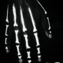 Halloween x-ray hand