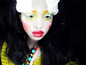 Inspired by Illamasqua's newest collection, Human Fundamentalism <3