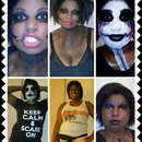 brandy's Halloween makeup