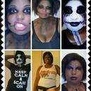 brandy's Halloween makeup
