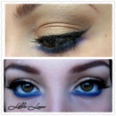 Inspired by the make up of Haifa Wehbe