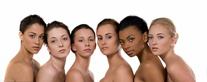 Natural clean no makeup look on all skin tones
