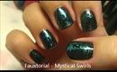 Mystical Swirls - A Nail Art Fauxtorial