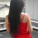 V cut Hair