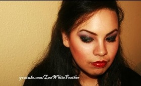 Holiday Makeup with a Glam Rock Vibe