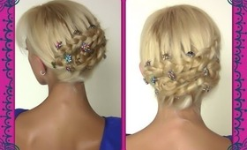 Braided Updo   Romantic Hairstyle For Long Hair   Braids