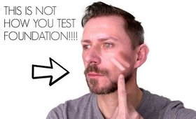 HOW TO REALLY TEST AND MATCH YOUR FOUNDATION!!!!