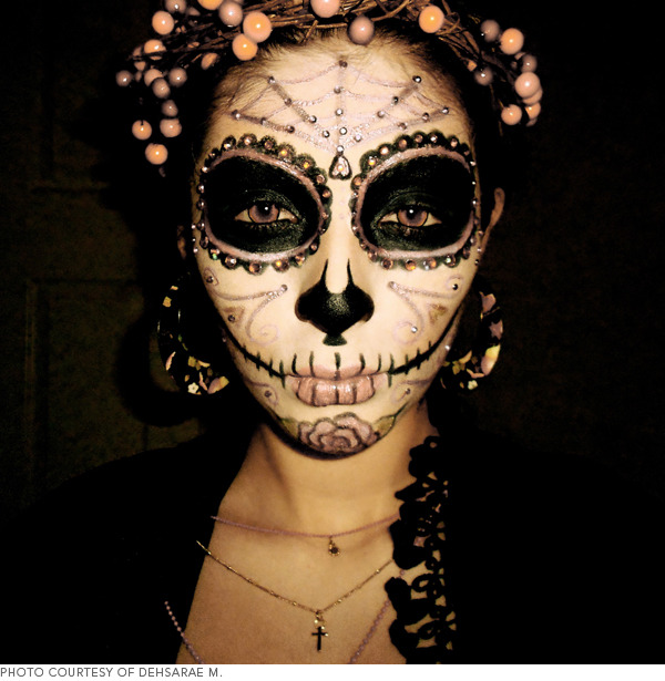 Sugar Skull Makeup Beautylish - How-to-do-day-of-the-dead-makeup