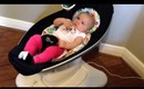 4 Moms Mamaroo infant bouncer REVIEW and Demo