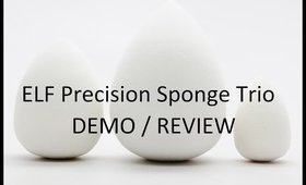 ELF Precision Sponge Trio- DEMO & Review